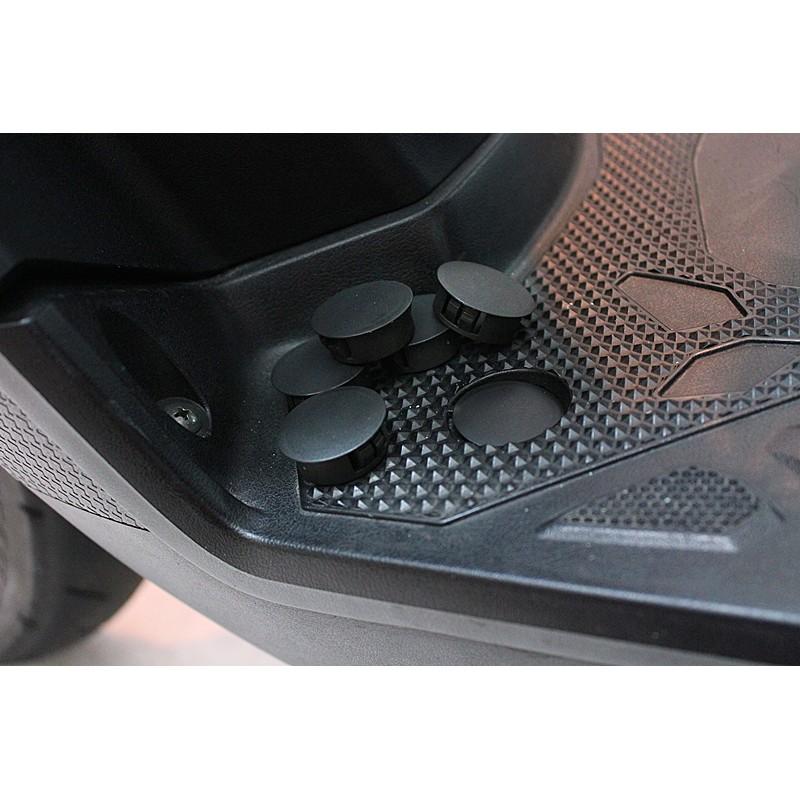 山葉YAMAHA全車系 腳踏板塞 腳踏塞 卡榫式  防塵塞 防塵扣 適用 勁戰 CUXI BWS 三代 四代 非原廠軟質