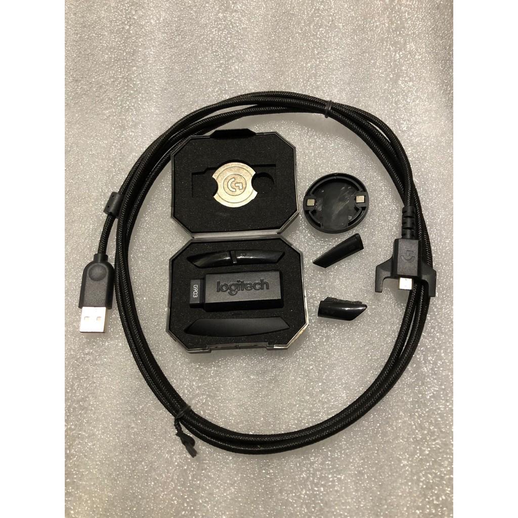 羅技G903hero Gpro側鍵充電線砝碼接收器轉接頭後蓋滾輪g4g5g6g7
