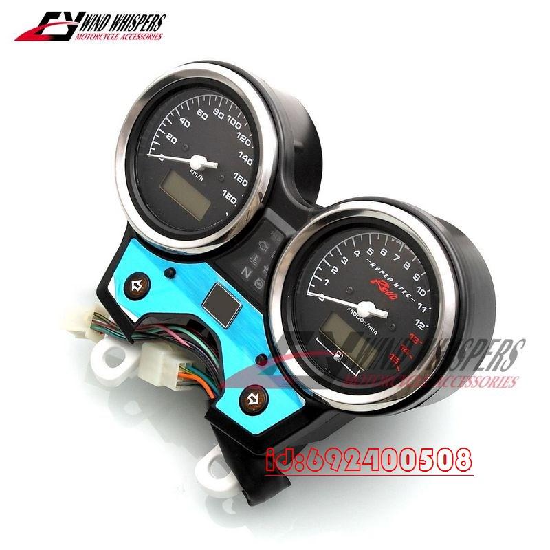 Motorcycle Gauges Cluster Speedometer Tachometer Odometer In