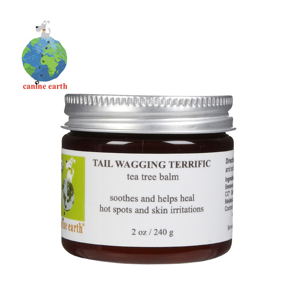 Canine Earth 愛地球.-2541愛地球有 機茶樹皮膚萬用膏2oz