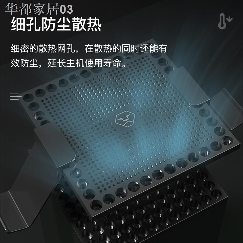 ❁現貨 AOLION Xbox Series X主機防塵蓋 多功能散熱防塵網 手柄支架1