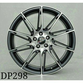 DP298 18吋五孔112灰底車面鋁圈 其他尺寸歡迎洽詢 價格標示88非實際售價 洽詢優惠中