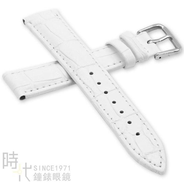 【台南 時代鐘錶 精選質感錶帶】小牛皮壓紋加厚 天梭替用錶帶 尺寸22mm  附工具