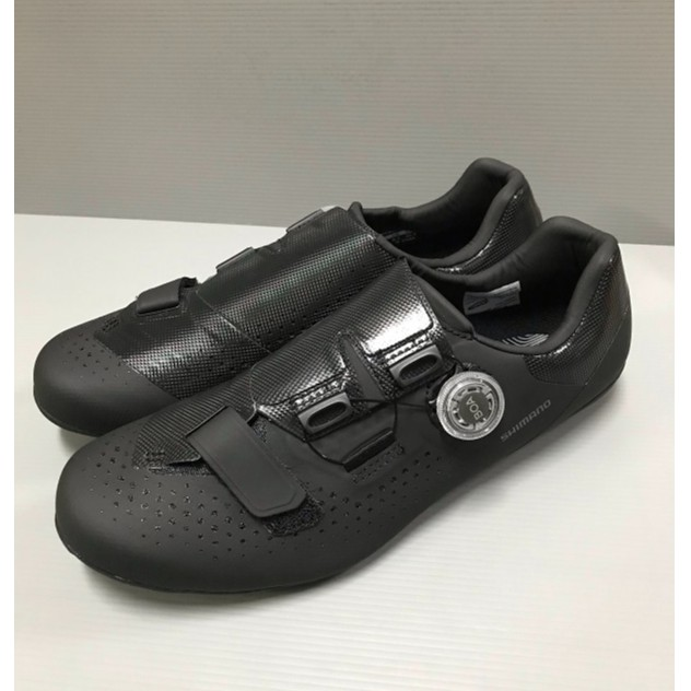 『時尚單車』shimano RC5 公路車鞋 SH-RC500 卡鞋 BOA旋鈕 寬版 黑色