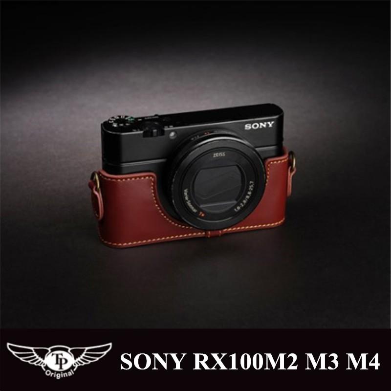 【TP original】相機皮套 真皮底座 SONY RX100 M2 M3 M4 M5 M5a RX100m5a