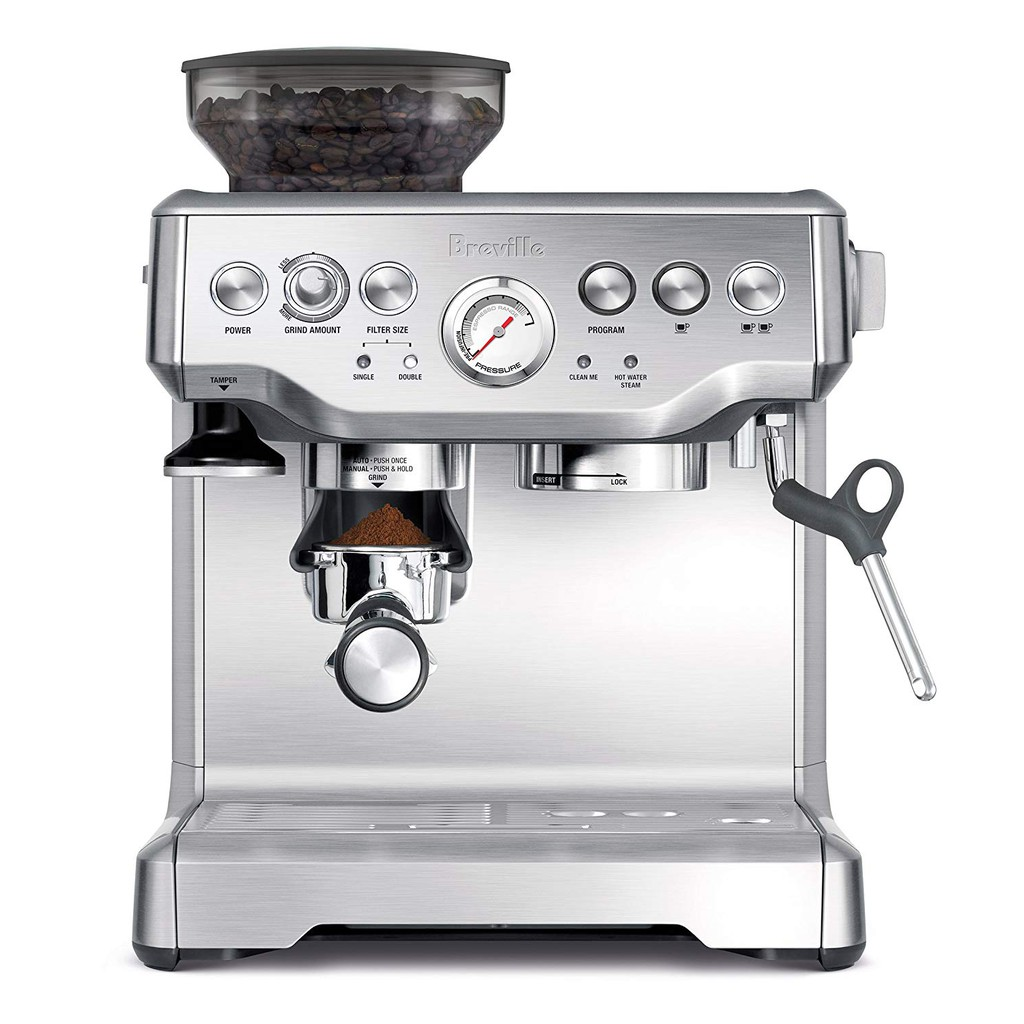 Breville 代購 BES870XL 咖啡機 Espresso 濃縮咖啡 咖啡 專業咖啡機 半自動 手動 全配 磨豆