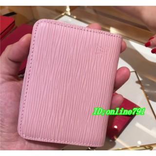 Louis Vuitton LV路易威登 M60152 M60383黑色/ 紫紅 EPI 水波紋 拉鍊零錢包 新北市