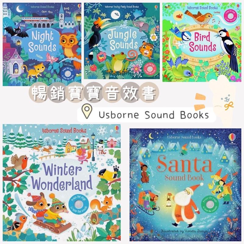 現貨🛵 Usborne✨Santa Sounds/Winter Wonderland Sound Book