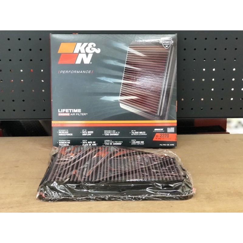 『木易國際』K&N 高流量濾芯 LEXUS GS300 GS430 GS450H SC430 33-2220