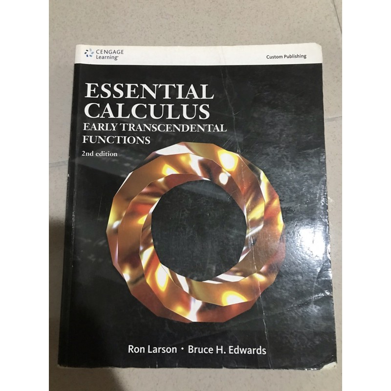 Essential Calculus-2nd edition