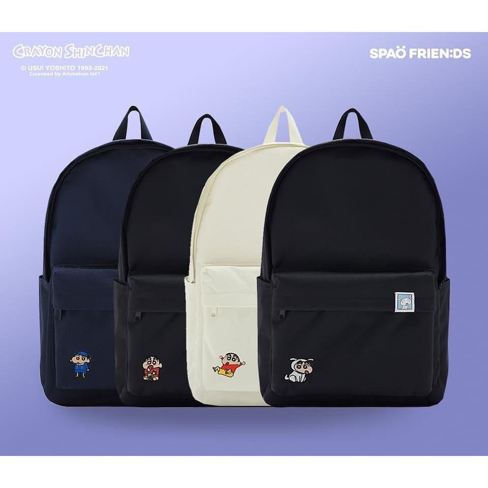 【預購】 韓國 SPAO x 蠟筆小新 聯名 後背包 書包 學生包 休閒包 背包 野原新之助 小新 小白