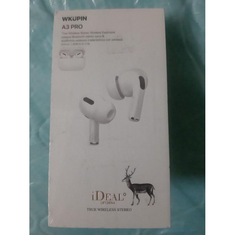(愛迪歐)ideal WKUPIN A3 PRO  白鹿藍芽耳機  藍芽耳機 立體聲 支援siri