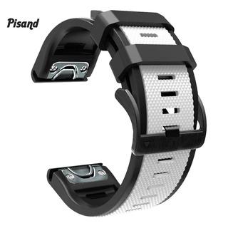 Pu 緊湊型錶帶防汗親膚 22 /  26mm 智能手鍊錶帶易於組裝