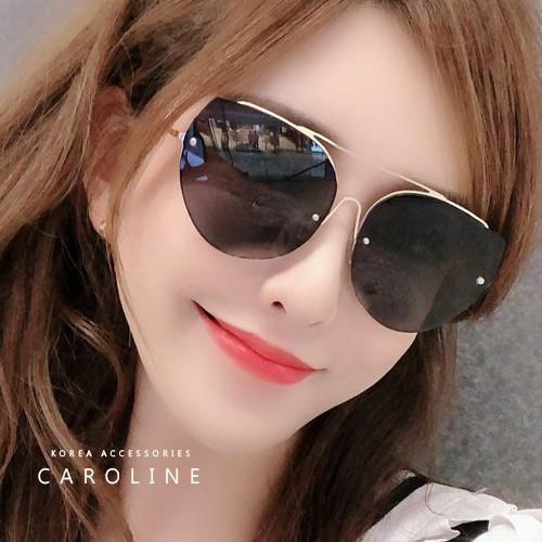年度最新網紅款潮流行百搭抗UV時尚個性太陽眼鏡 71641
