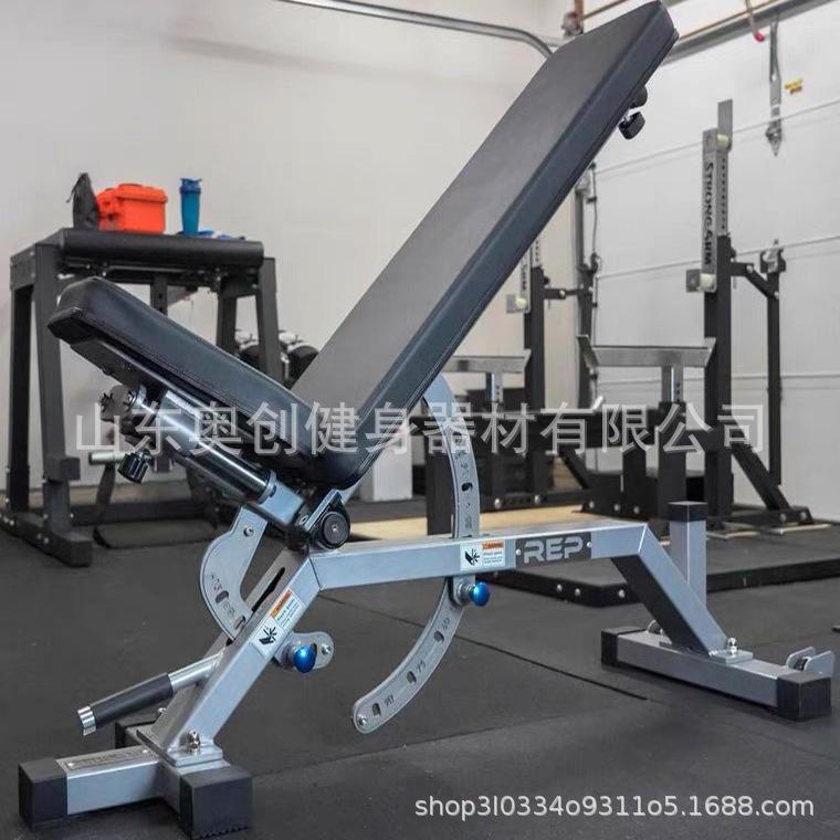 蝦皮精選~REP AB5000坐板零間隙款可調節啞鈴凳臥推凳健身椅專業健身房