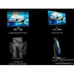 刷卡含發票ASUS VG258Q 24.5 吋Full HD 電競專為節奏飛快的刺激遊戲所設計1ms 超快反應時