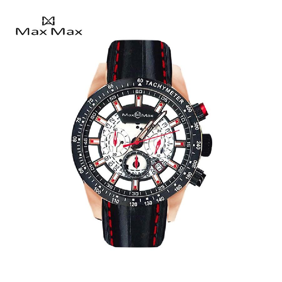 MaxMax 原廠公司貨 三眼計時運動腕錶MAX999-3【完全計時】手錶館