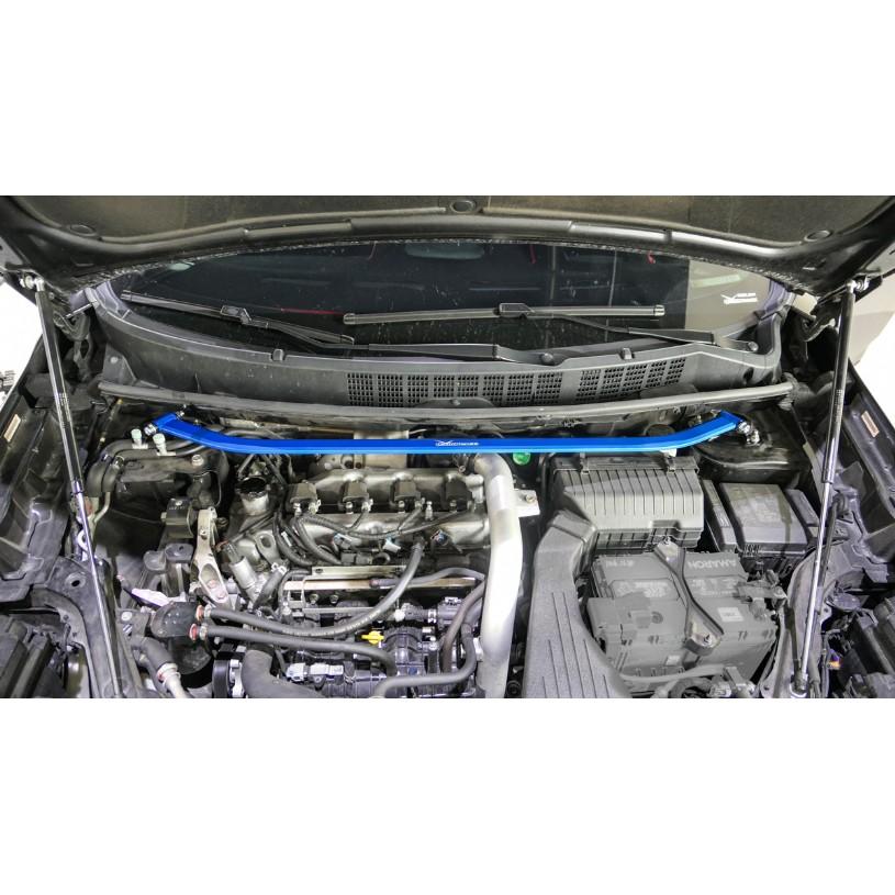 HARDRACE LUXGEN S5 U6 引擎室拉桿 前上拉桿