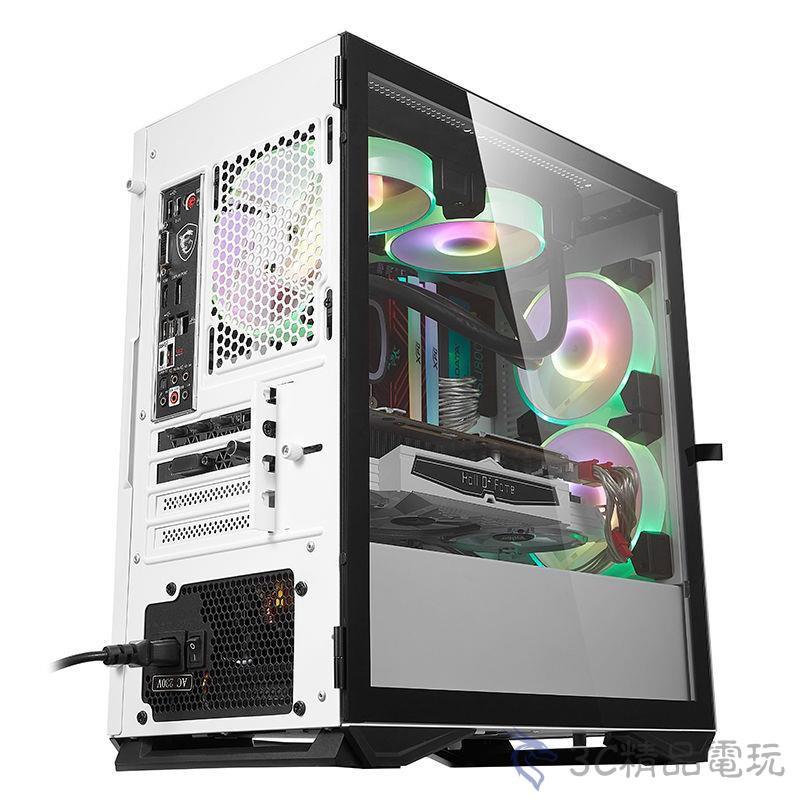 現貨 電腦機殼 愛國者YOGO 迷你臺式機 電腦粉色 MINI機箱 M2機箱 matx靜音游戲水冷