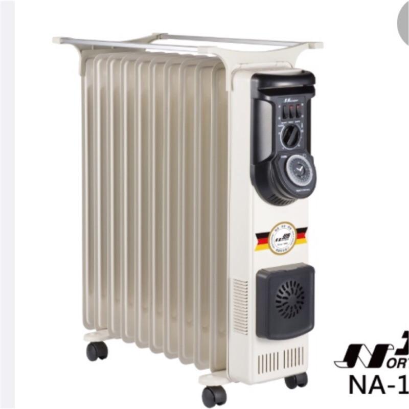 北方11片葉片式電暖器(二手,含運費,可議價)