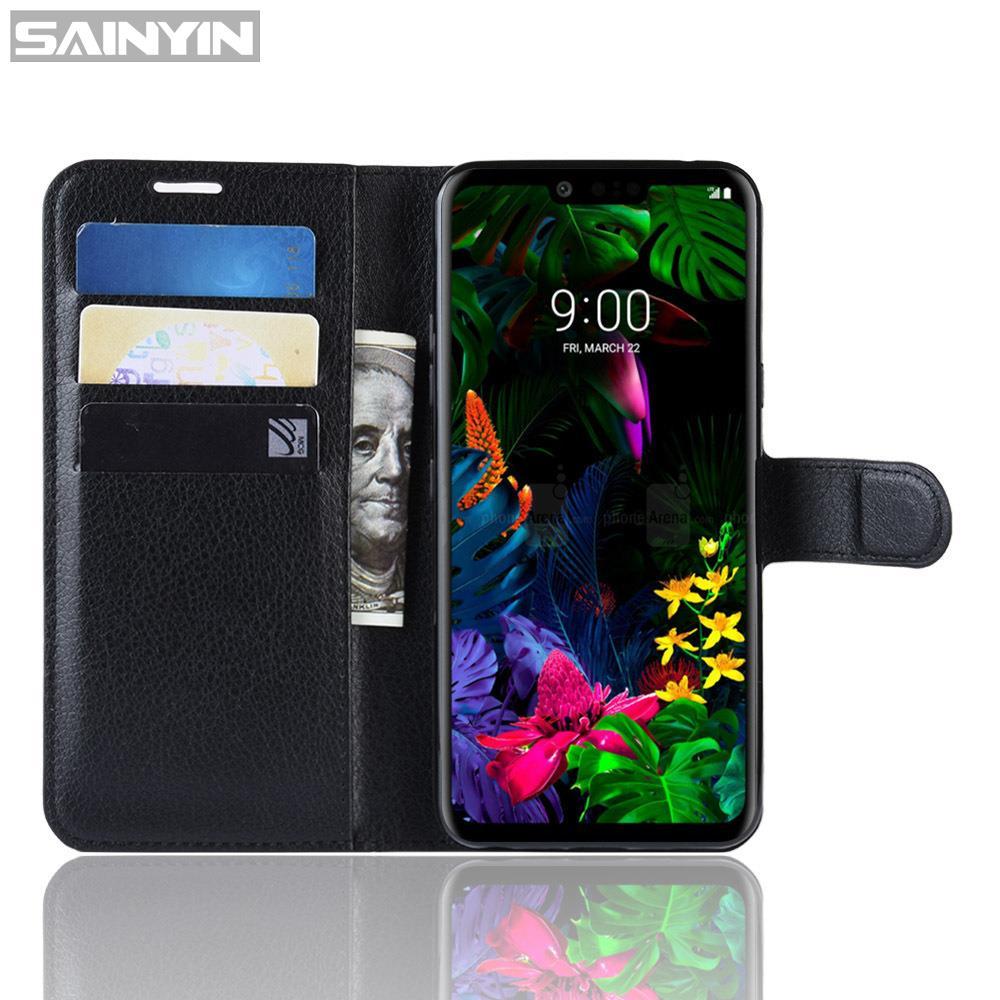 ✻❁♂適用LG G8 ThinQ 皮套CN-001翻蓋卡槽荔枝紋LG G8 ThinQ手機殼