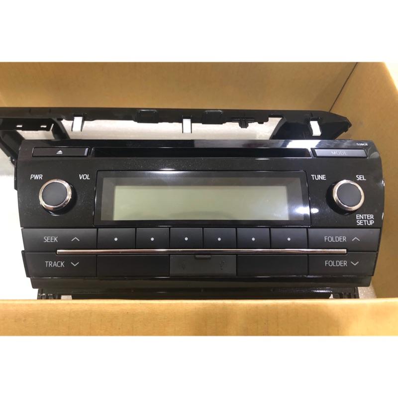 全新❗️汽車音響主機 ❗️TOYOTA Altis 原廠 Panasonic CQ-JS73GAWT MP3