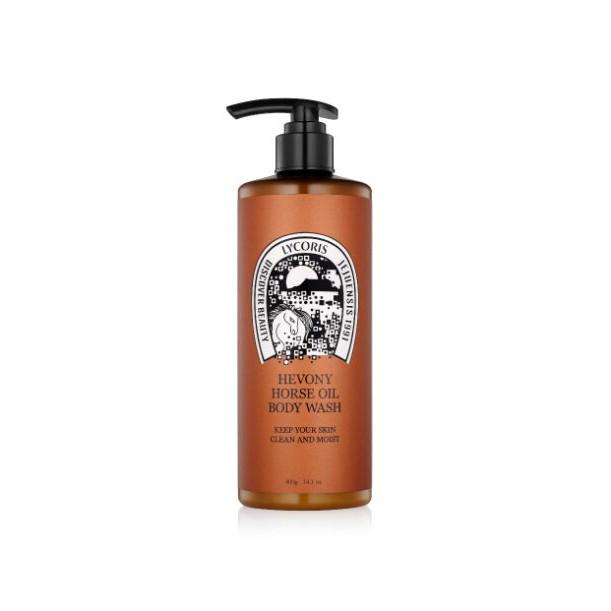 【OAS】LYCORIS 馬油保濕沐浴乳 400ml 韓國第一馬油品牌