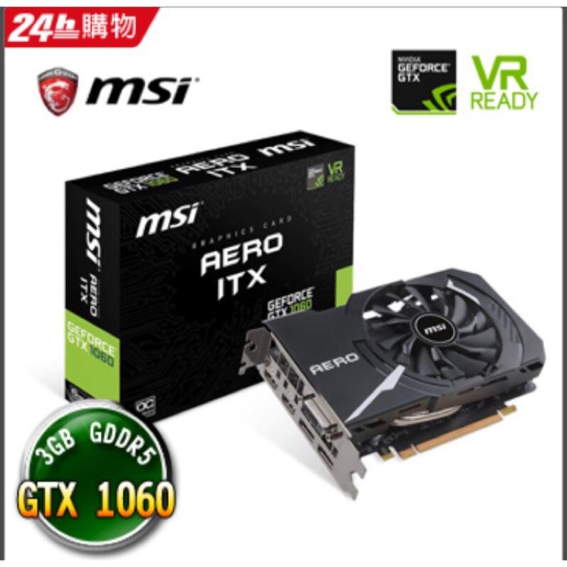 MSI GTX1060 3G AREO ITX