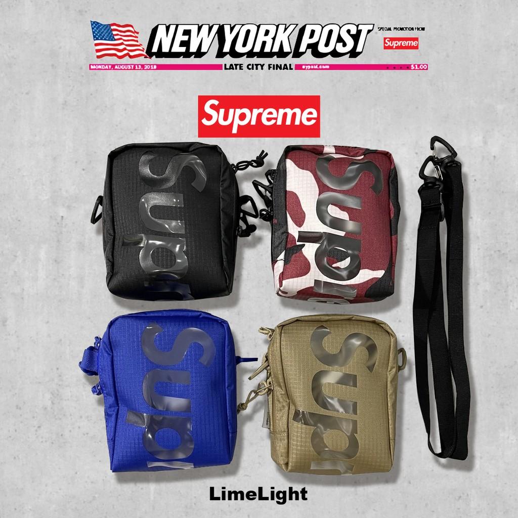 ☆LimeLight☆ 2021 春夏 Supreme 50th Neck Pouch Bag 小包 肩包 包 旅行小包