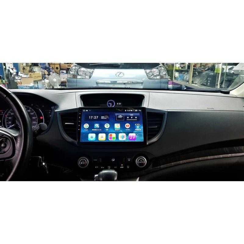HONDA CRV 4代 4.5代 (12-17) 2021年新版10.2吋安卓10.0版八核6+128智能導航旗艦車機