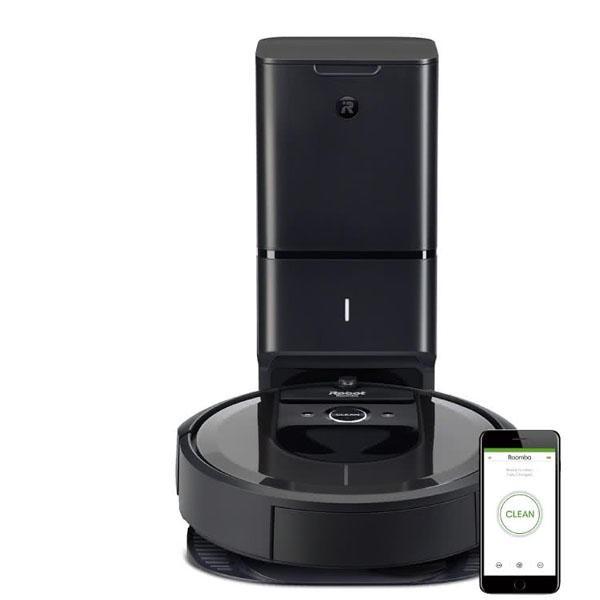 iRobot Roomba i7+ 自動倒垃圾&AI規劃路徑&wifi&APP