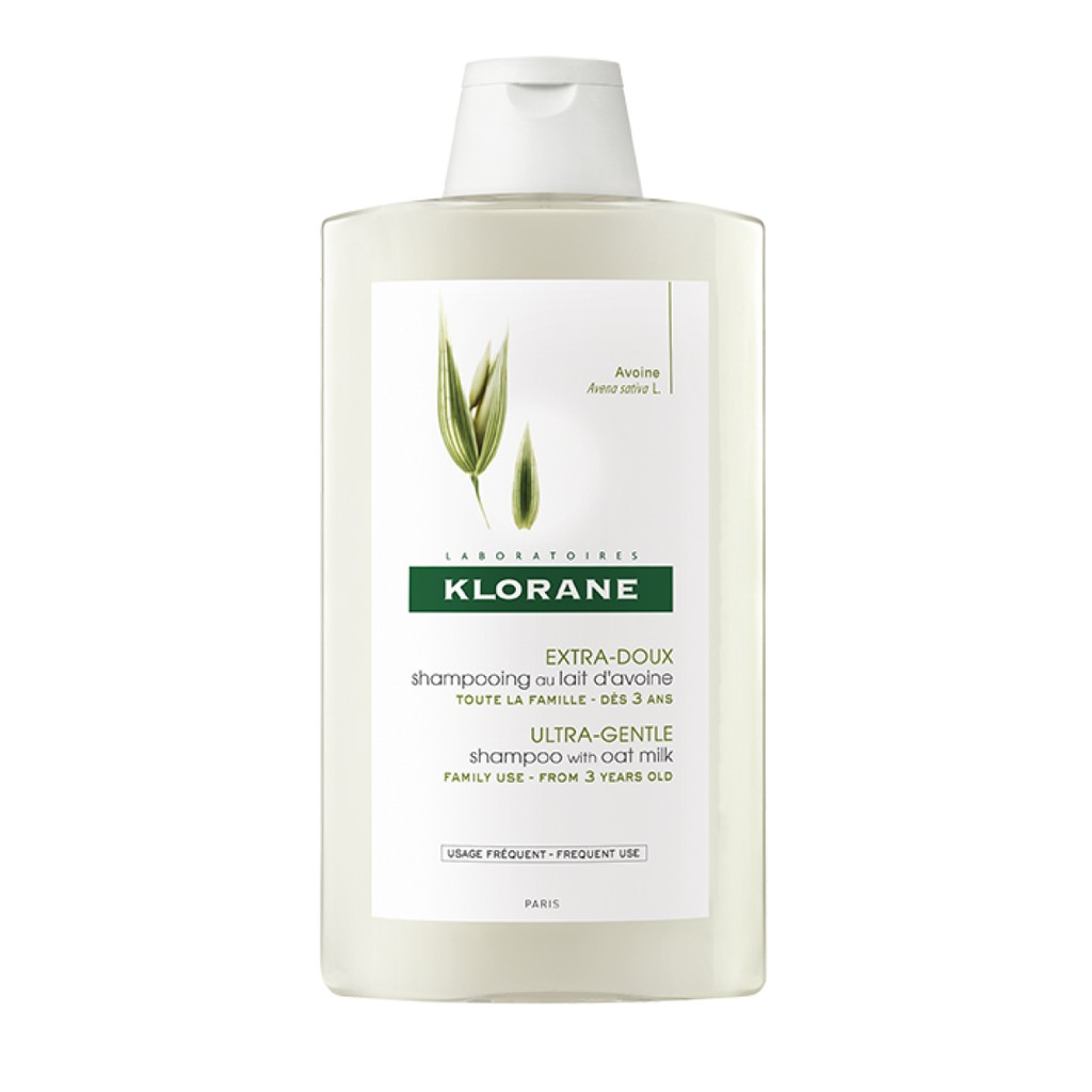 KLORANE 蔻蘿蘭 燕麥溫和洗髮精 400ml