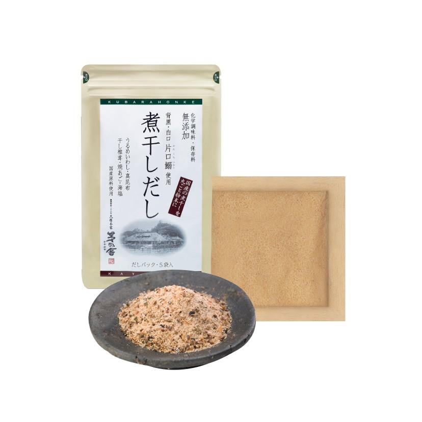 瑰朵選物 ◎日本◎ 茅乃舍 小魚乾香菇高湯 椎茸 5入 / 30入