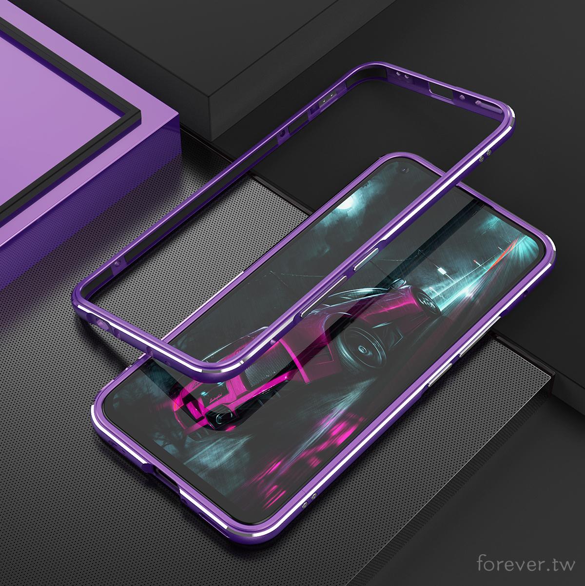 送玻璃貼 鋁合金金屬邊框保護殼 適用於Sony Xperia 10 II Sony Xperia 1 II防摔防撞殼
