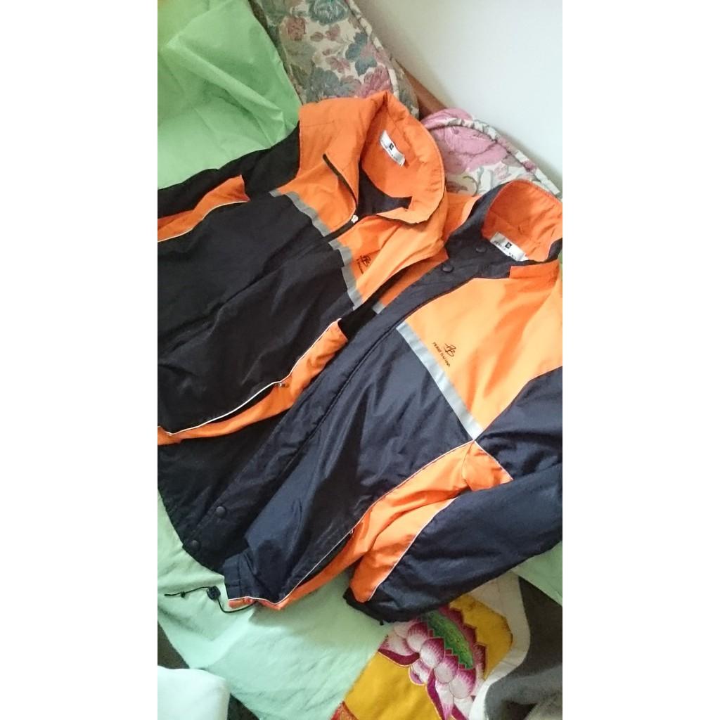 Pierre Balmain 名牌風衣外套同系列兩件 一長袖一無袖 尺碼XL