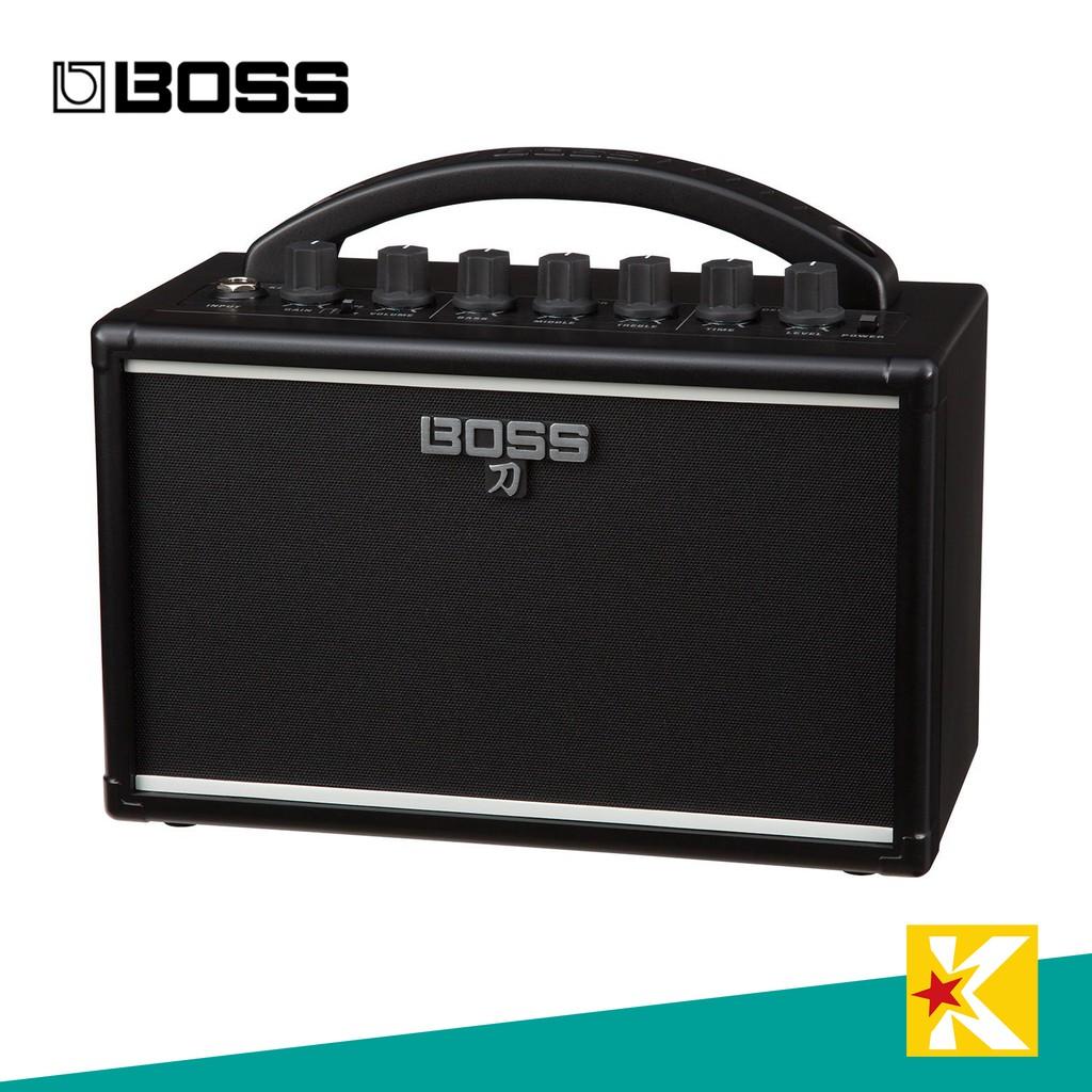 【金聲樂器】BOSS KATANA MINI 可用電池 小型 吉他擴大音箱