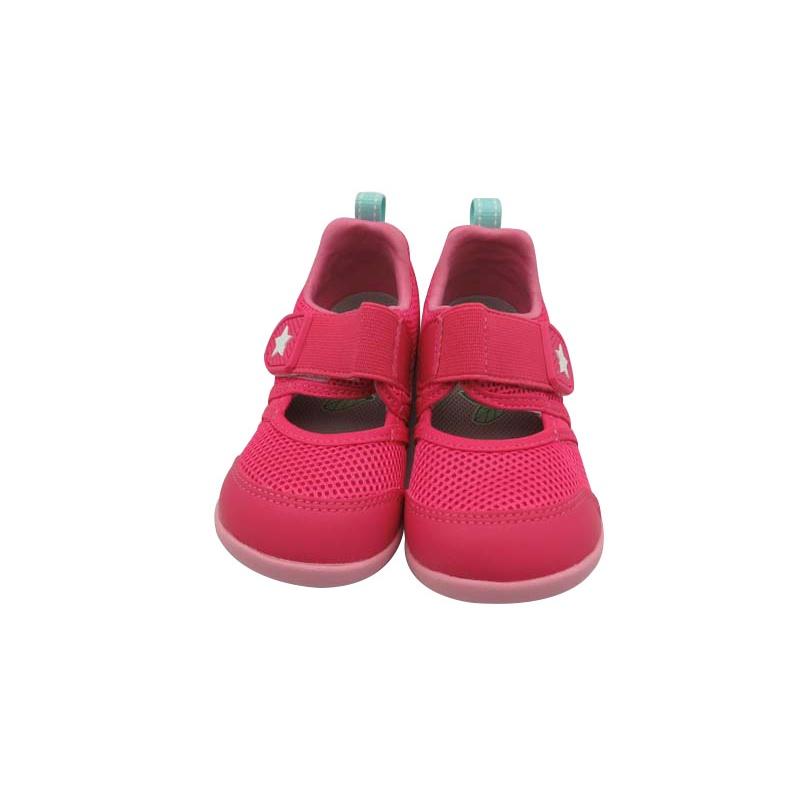 (2021/10現貨)日本月星Moonstar機能童鞋-HI系列寬楦速乾鞋-粉(寶寶段)