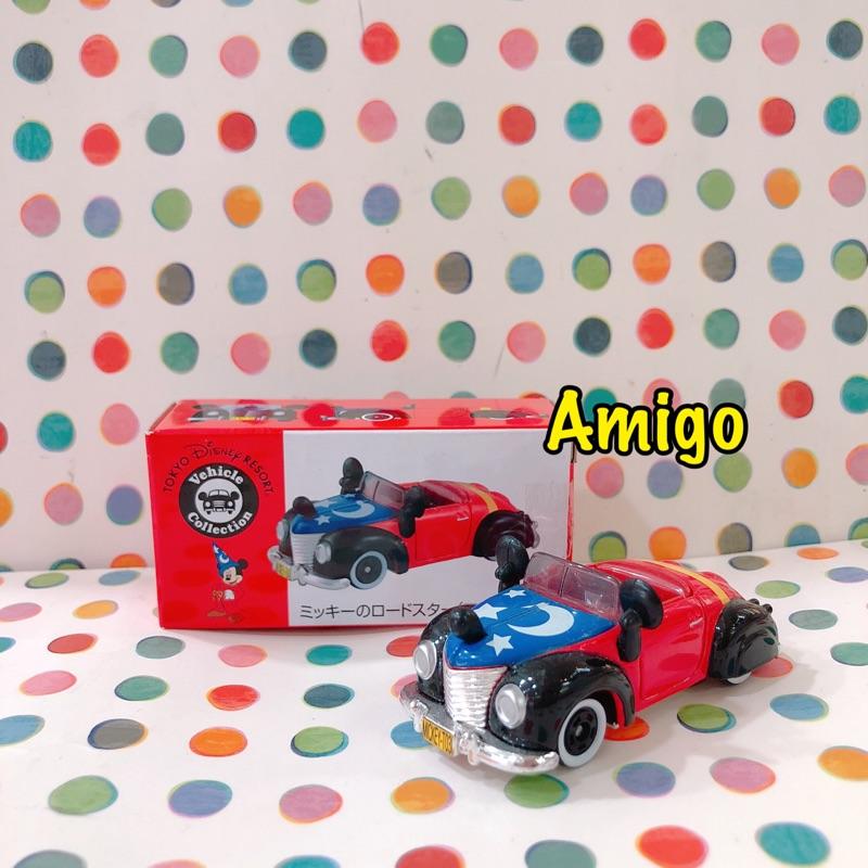 日本 迪士尼樂園 tomica 多美 多美卡 米奇 魔法師 車 小車 跑車 汽車 多美車 多美小汽車