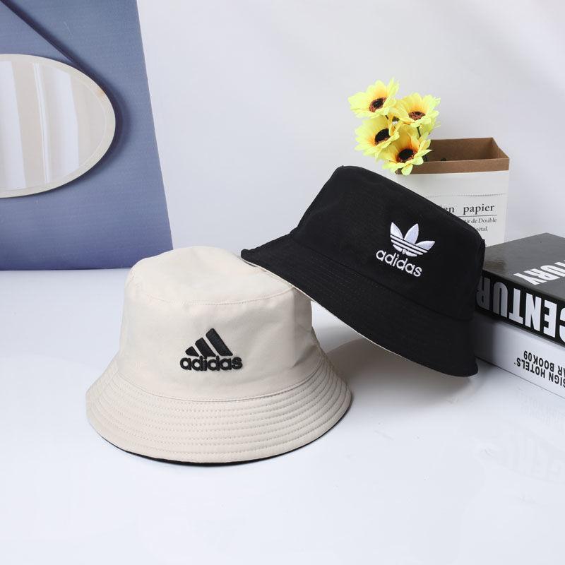 【多色熱賣】DIOR漁夫帽 adidas韓系雙面漁夫帽 圓頂帽 遮陽 防晒帽