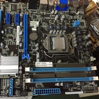 華碩 1155 三代主機板 Asus P8H61-M/ BM6630-8/ DP_MB usb3.0 DDR3 x2 新北市