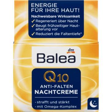 德國 dm Balea(芭樂雅) Q10日霜 Q10晚霜 每罐50ml