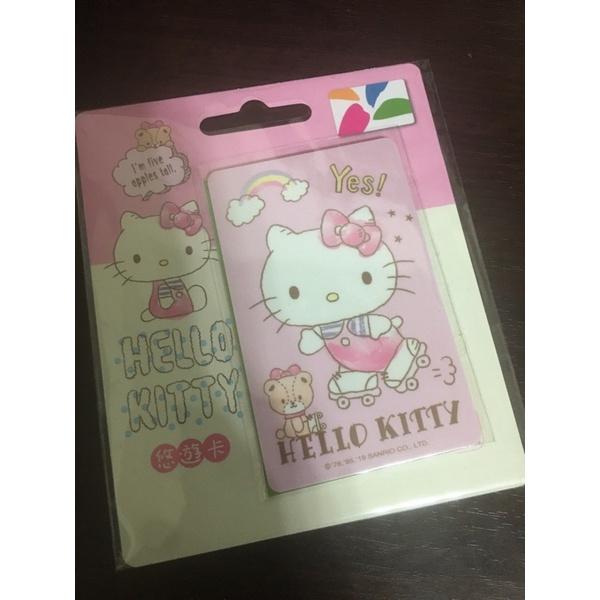 Hello kitty 悠遊卡 溜冰