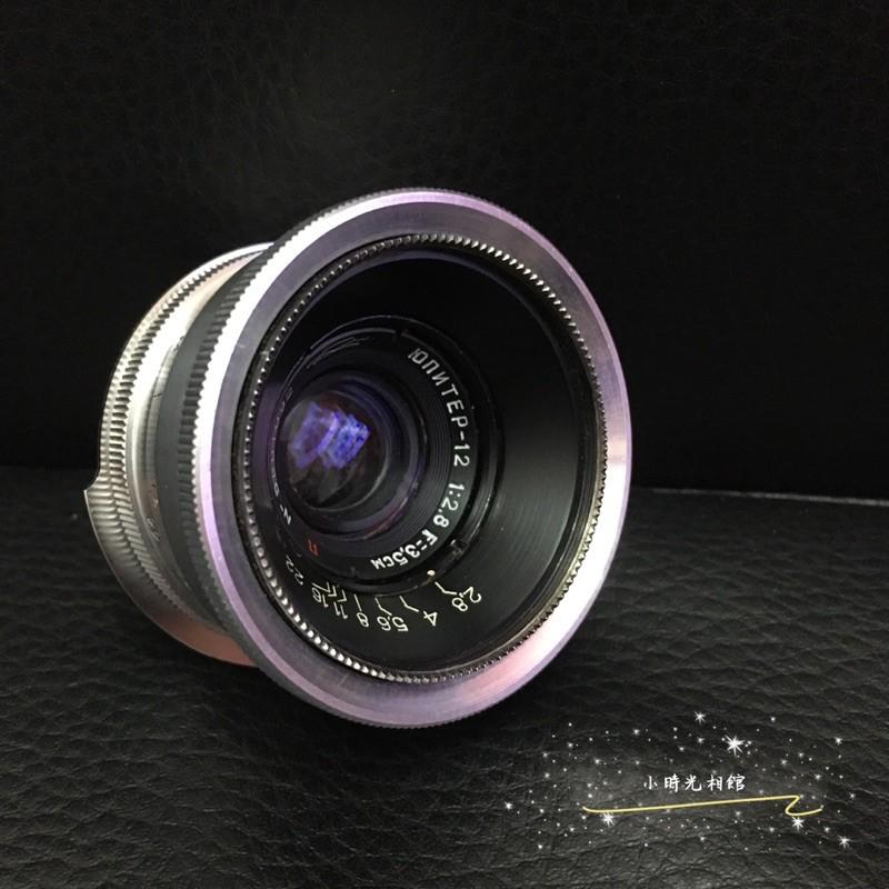 廣角銘鏡出讓Юпитер-12 3.5cm 35mm f2.8 公分老鏡 Leica L39接口 目前已轉接M口直上