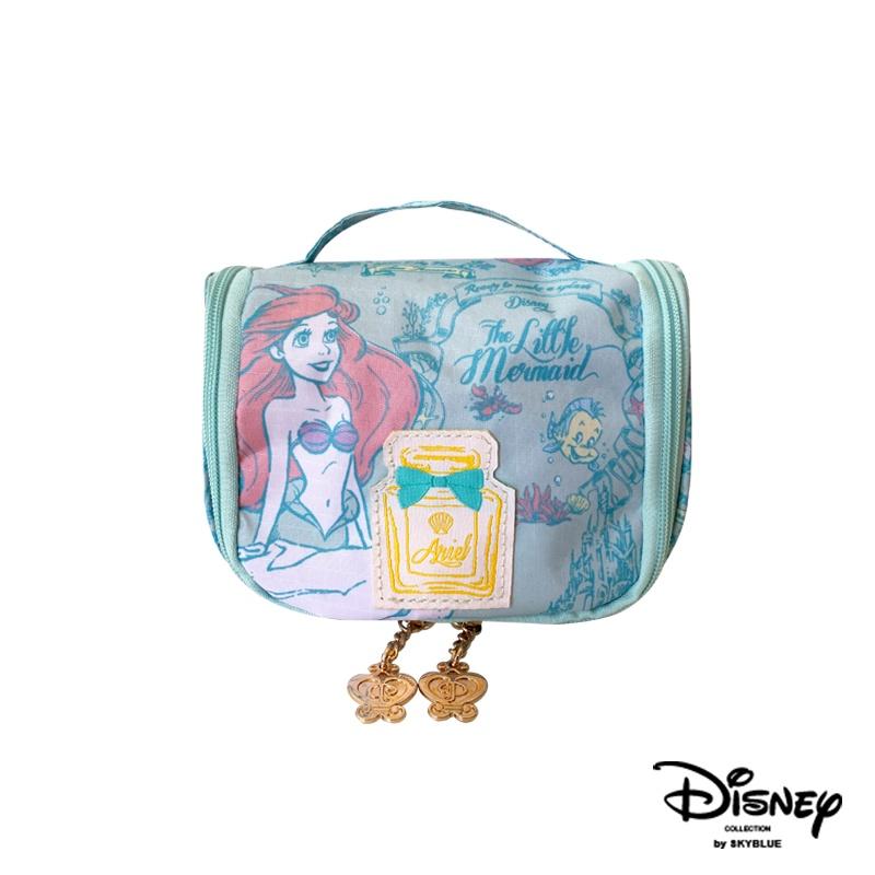 天藍小舖-迪士尼系列唯美滿版公主小美人魚款盥洗化妝收納小包-A09090237