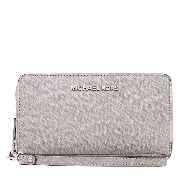 MICHAEL KORS 手拿包 手機包 十字紋防刮真皮 卡片夾 手機包 皮夾 手拿包 M16268 MK 廠商直送