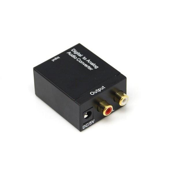 💕爆款推荐💕電視光纖轉AV 數位轉類比 SPDIF轉RCA 光纖同軸 音源轉換器/轉換盒