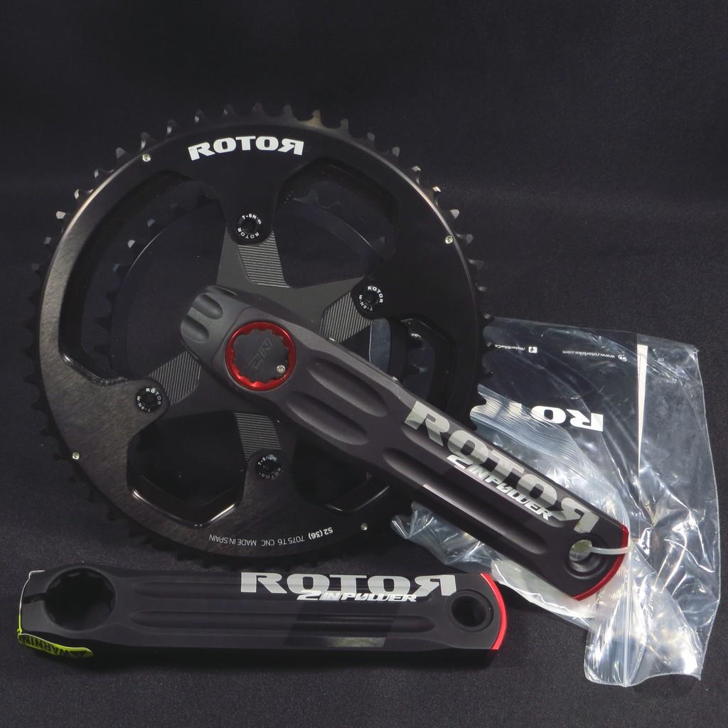 Rotor 2INpower 雙邊功率腿組 + 齒盤