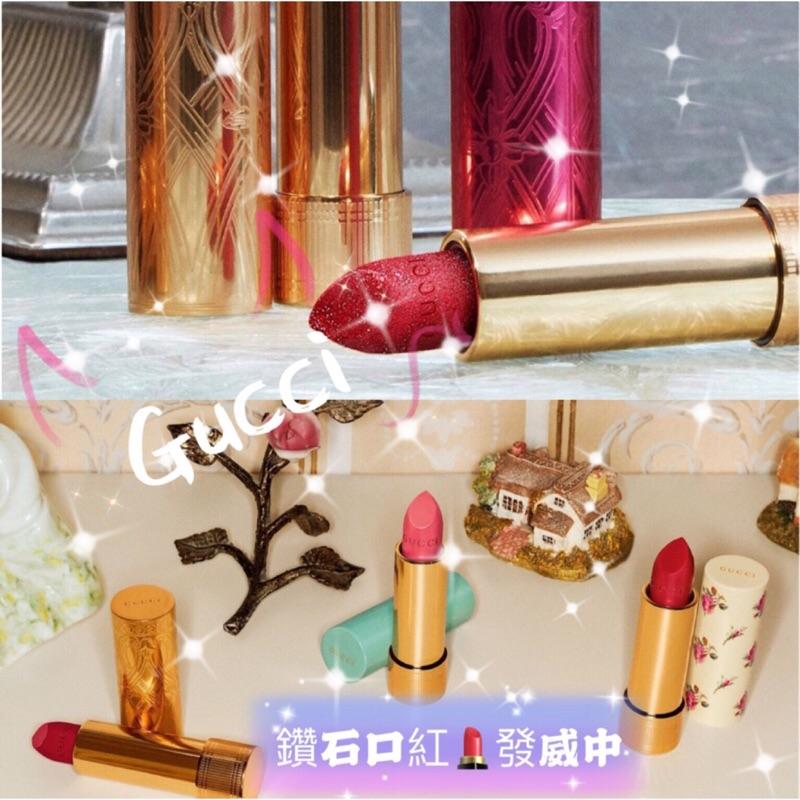 《A'sD 現貨正品》Gucci 聖誕限定閃亮唇膏25 Goldie Red Glitter Lipstick