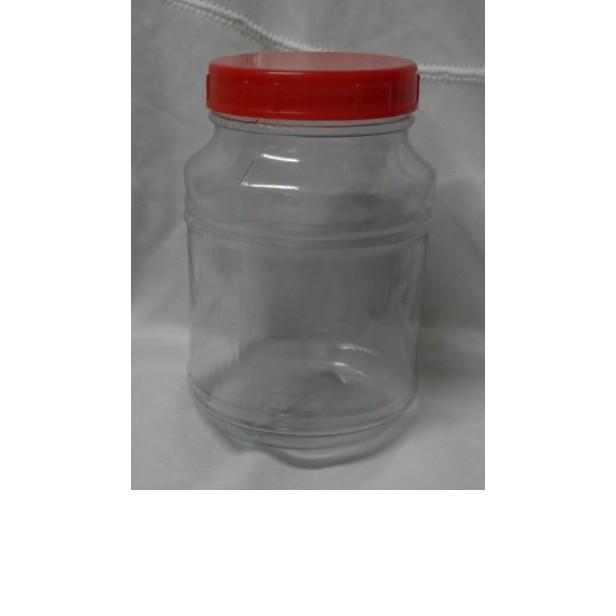 台南乃勤透明筒 收納罐 收納桶 零食罐 塑膠筒 塑膠桶 0.5公升 ~ecgo五金百貨