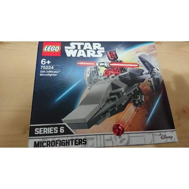 LEGO 75224 樂高 西斯滲透者微型戰機 拆不可退 下標前請詳閱商品說明